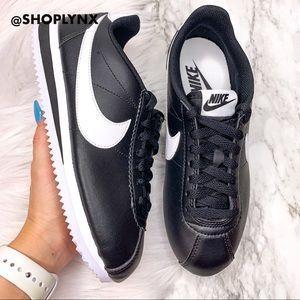 Nike Classic Cortez Black Leather
